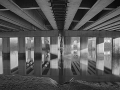 08 Onder de brug HDR mono